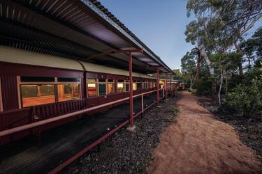 Die Wagons wurden 2016 renoviert