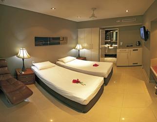 Resort Studio - wahlweise mit Einzelbetten