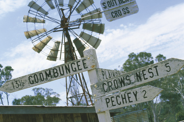 Outback Wegweiser ©Tourism and Events Queensland