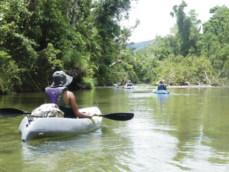 Optional: Tully River Kajak-Tour
