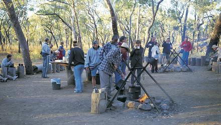 Typisches Outback-Frühstück