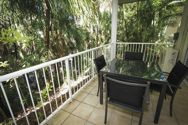 Gartenvillas mit Balkon oder Terrasse