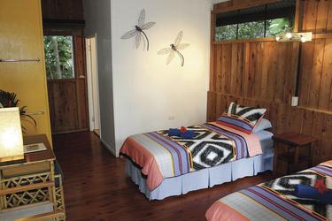 Bungalow mit Einzelbetten