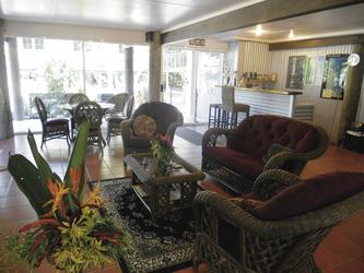 Gäste-Lounge im Haupthaus
