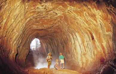 Geführte Tour durch Lava-Tunnel