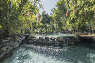 Poollandschaft im Thala Beach Nature Reserve
