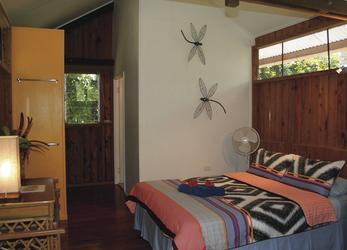 Bungalow mit Doppelbett
