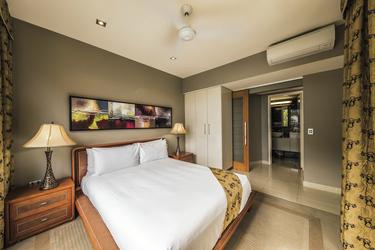 Schlafzimmer der Welcome Bay Suite, ©Christian Miller