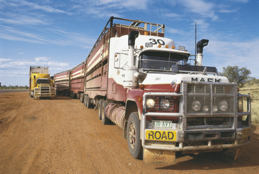 Road Train in Queensland