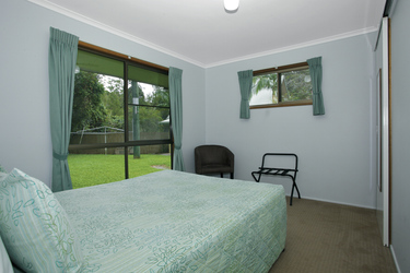 Hauptschlafzimmer der Broken River Lodge