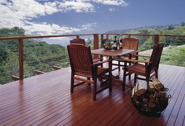 Balkon der Canopy Suite
