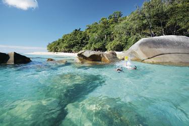 Schnorcheln vor Fitzroy Island, ©Great Barrier Reef HelicopternGreat Barrier Reef Helicopter