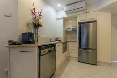 Apartments mit moderner Küche