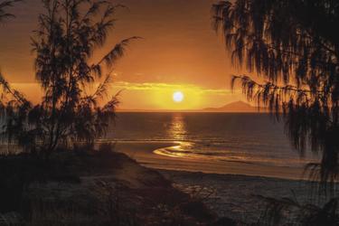 Sonnenuntergang auf Great Keppel Island