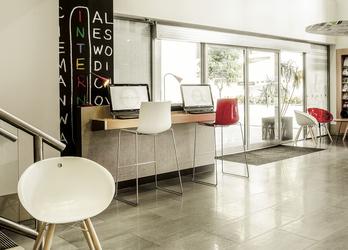 Gästecomputer in der Lobby