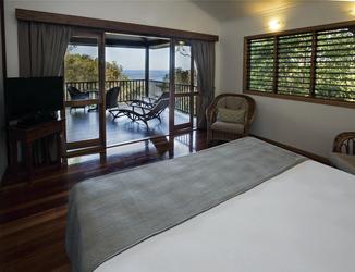Schlafzimmer der Sandpiper Suite