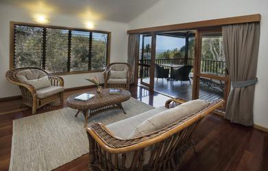 Sandpiper Suite, Lounge und Deck