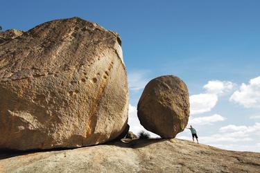 Granitfelsen im Girraween National Park