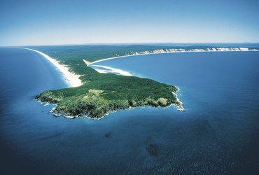 Double Island Point, Great Beach Drive, ©Tourism and Events Queensland
