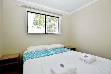 Hauptschlafzimmer im Strandbunglow
