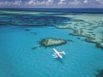 Mit Air Whitsundays zum Heart Reef, ©Salty Wings 2016