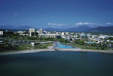 Blick auf Cairns