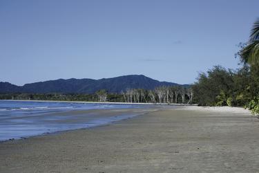 Thortons Beach - nur 5 Min. von der Lodge
