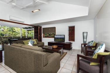 Wohnbereich 2 SZ Apartment (Beispiel)
