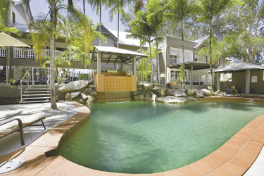 Swimming Pool, Paradise on the Beach