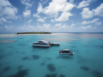 Vor Lady Musgrave Island, ©Tourism and Events Queensland