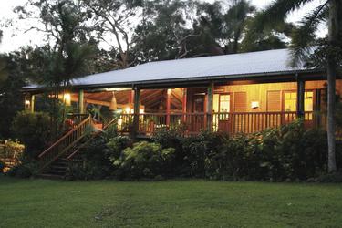 Haupthaus der Mungumby Lodge