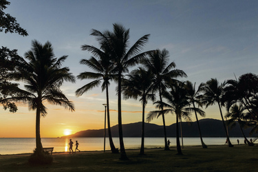 Abendstimmung Cairns Esplanade, ©Tourism and Events Queensland