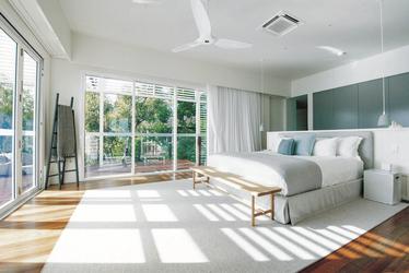 The Pavillion: Morgensonne im Schlafzimmer