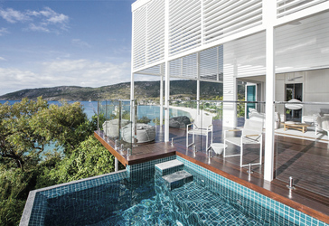 The Pavillion: Deck und Plunge Pool