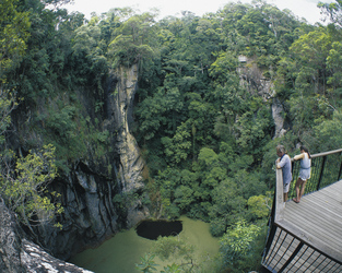 Hypipamee Crater, Atherton Tablelands