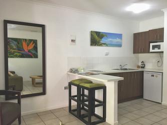 Küche im Studio (Beispiel)