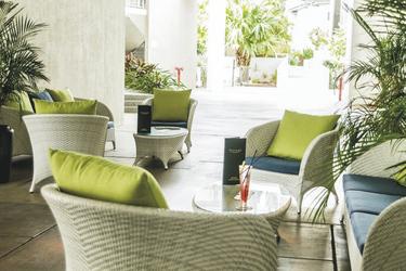 Luftige Lounge