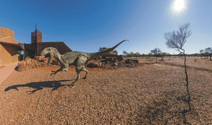 Dinosaur Canyon, ©Tourism Queensland