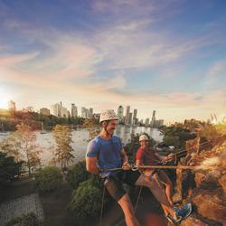 Brisbane River Skyline Abseiling