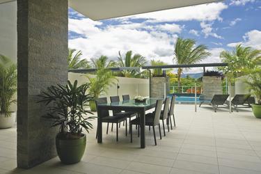 Penthouse Terrasse mit Pool