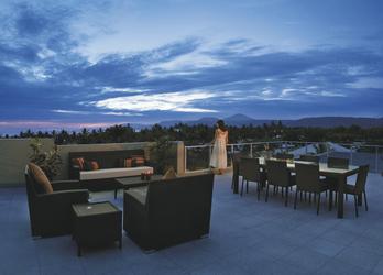 Penthouse Abendstimmung