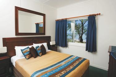 Schlafzimmer in 2SZ Suite
