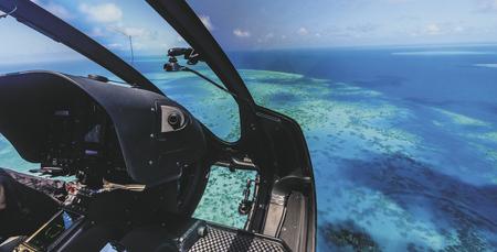 Wahlweise Anreise per Helikopter