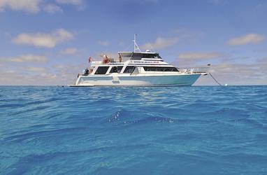 Bootstour zum Riff