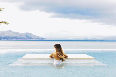 Infinity Pool mit Aussicht, ©Will Salkeld