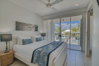 Balkon-Apartment, Hauptschlafzimmer (Beispiel)