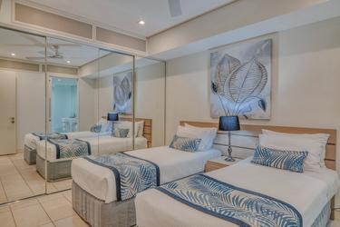 Balkon-Apartmant, zweites Schlafzimmer (Beispiel)