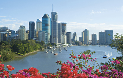 Brisbane River & Skyline , ©Paul Ewart (paul.ewart@mac.com)