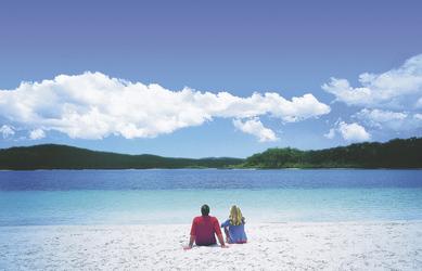 Strand am Lake McKenzie, Fraser Island