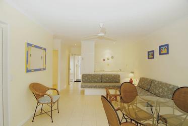 1 Schlafzimmer-Apartment (Wohnbeispiel)